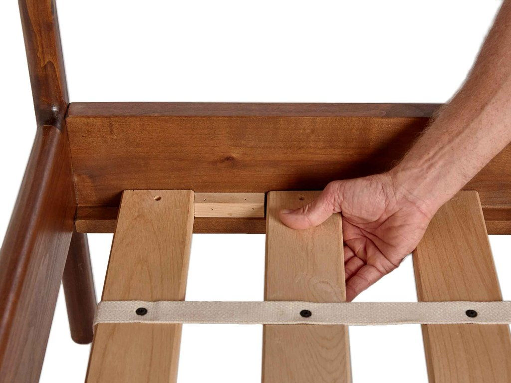 PARACHUTE HOME BED FRAMES ARE MADE TO SUPPORT ANY MATTRESS WITHOUT A BOX SPRING. A FOUNDATION IS NOT REQUIRED. EASY ASSEMBLY