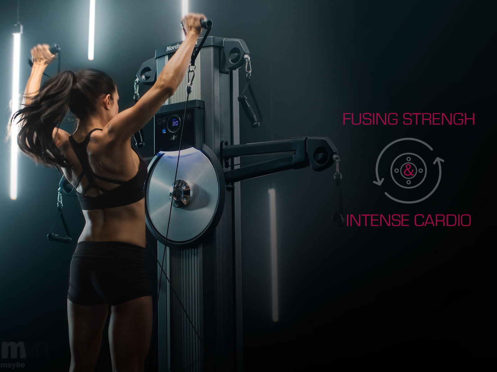 FUSING STRENGTH WITH INTENSE CARDIO WORK-OUTS IN ONE PIECE OF EQUIPMENT