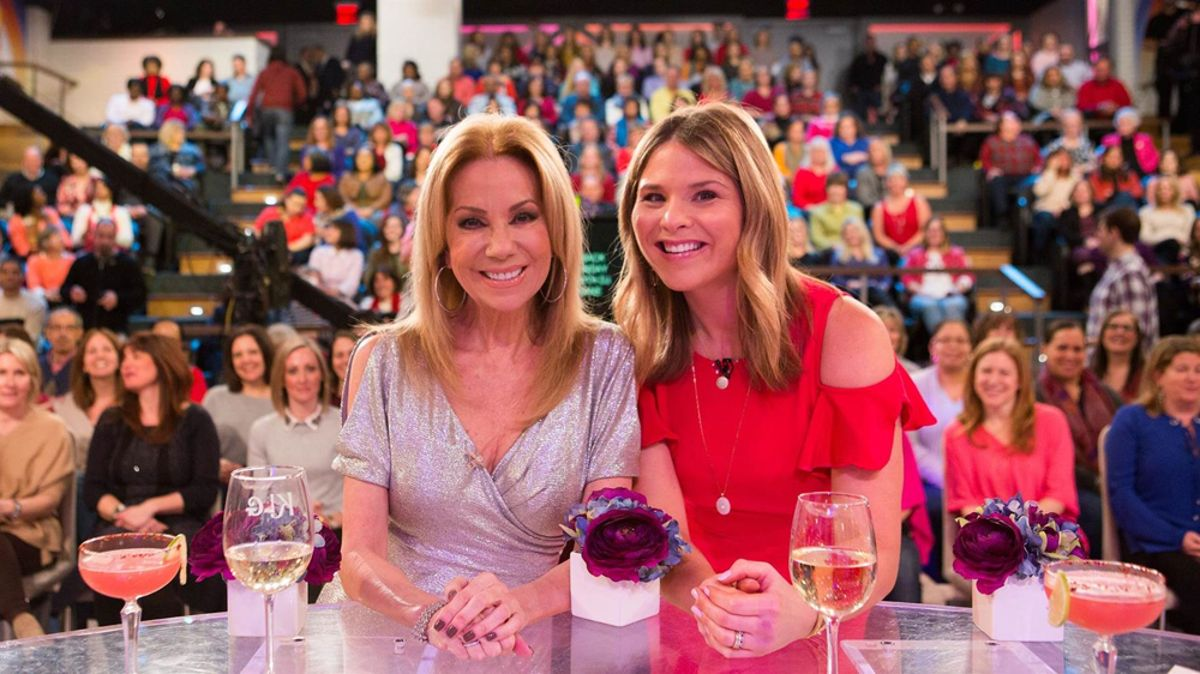 KATHIE LEE AND JENNA BUSH HAGER TAKE OVER MEGYN KELLY'S STUDIO 6A