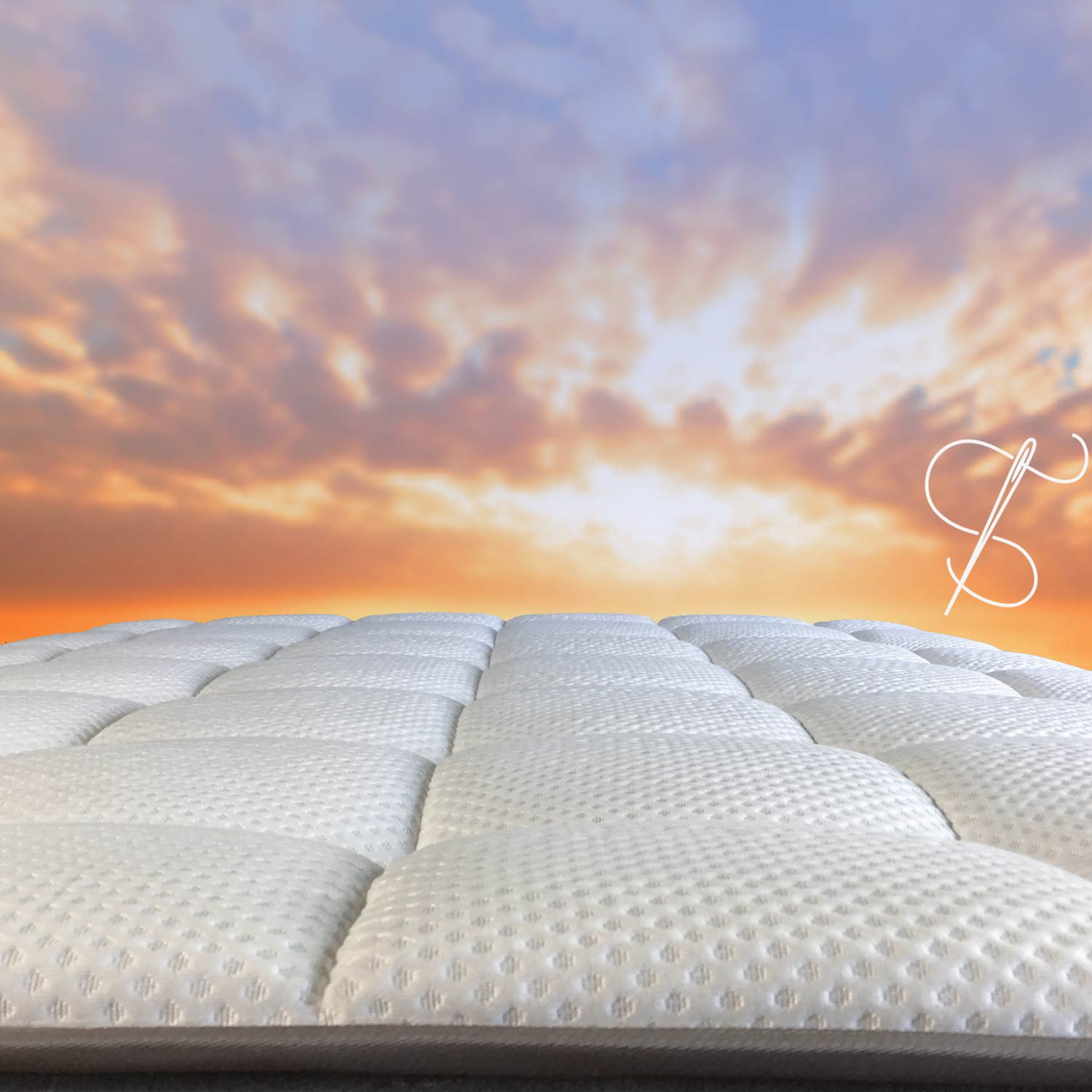 DREAMCLOUD MATTRESS COVER IS 100% HAND TUFTED AND IS WELL HANDCRAFTED FROM THE INSIDE TO THE OUTER COVER. ADDITIONALLY ZERO ODOR WAS DETECTED UPON OPENING.