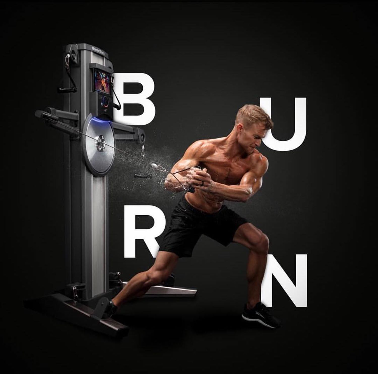 COMBINES STRENGTHWITH CARDIO - IN ONE MACHINE