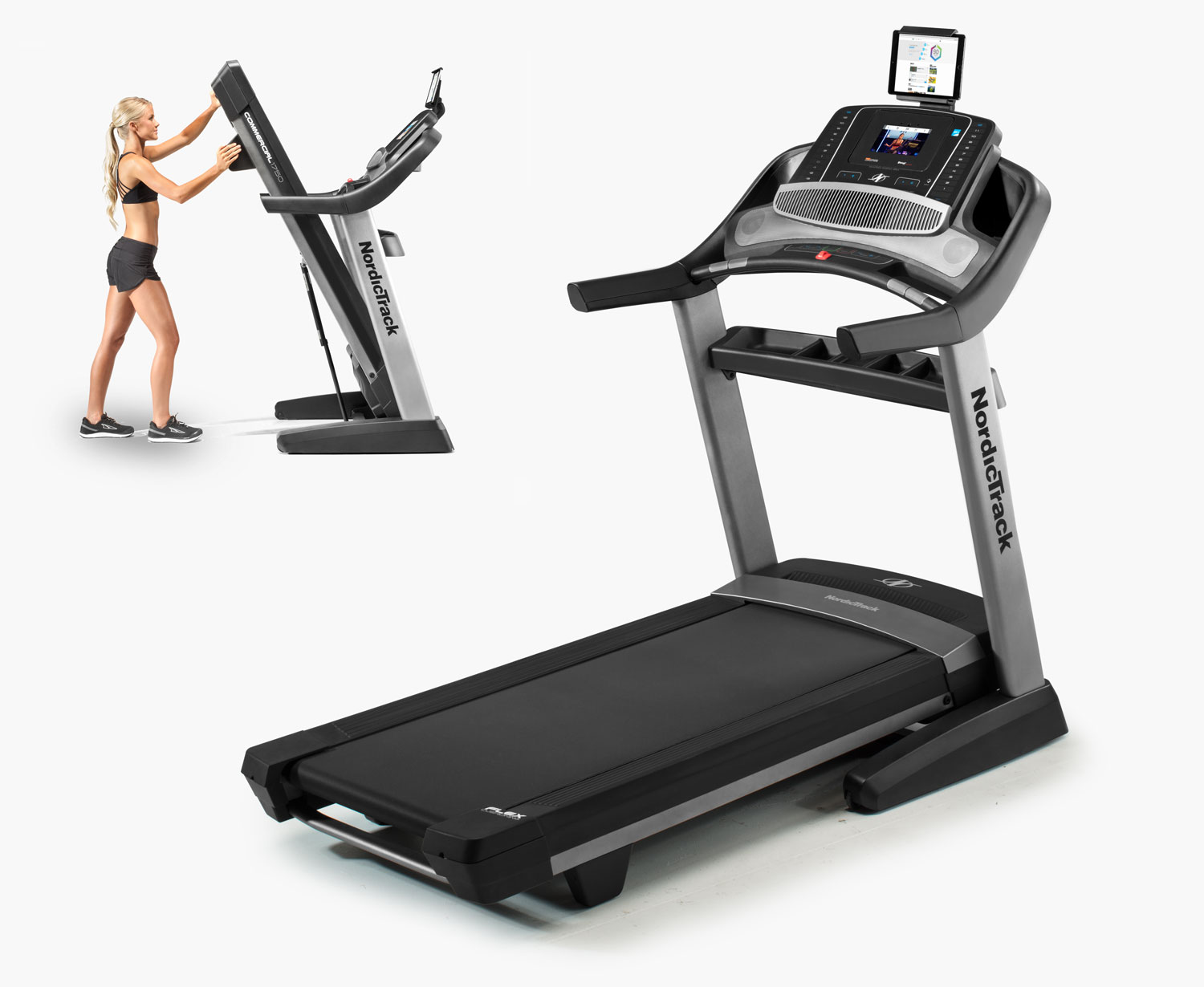 - Commercial 1750 TreadmillOur pick for long runs and multiple user use