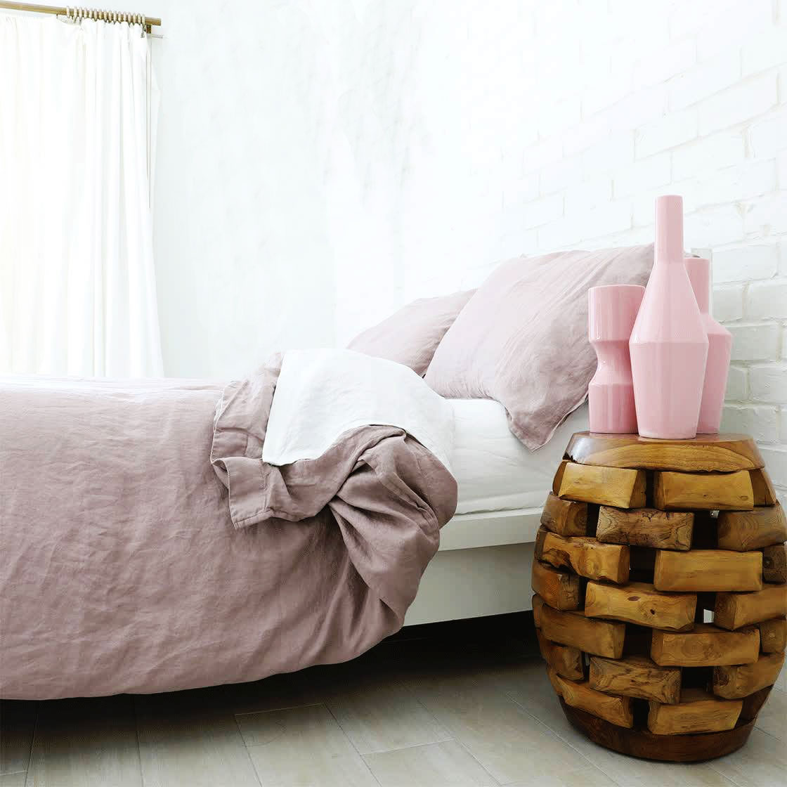 GREAT FEEL, AWESOME RELAXED LOOK, STAY COOL AND COMFORTABLE WITH  100% FRENCH LINEN  DUVET AND SHEETS FROM PRIMARY GOODS – AFFORDABLE LUXURY