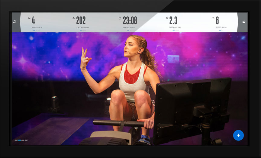 Streamed Studio Rowing Classes