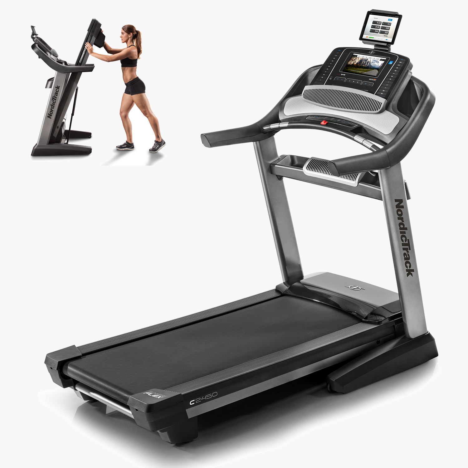 Commercial 2450 Review  A durable s a hard working treadmill that holds up to multiple users, daily runs and longer distances with nice design features included