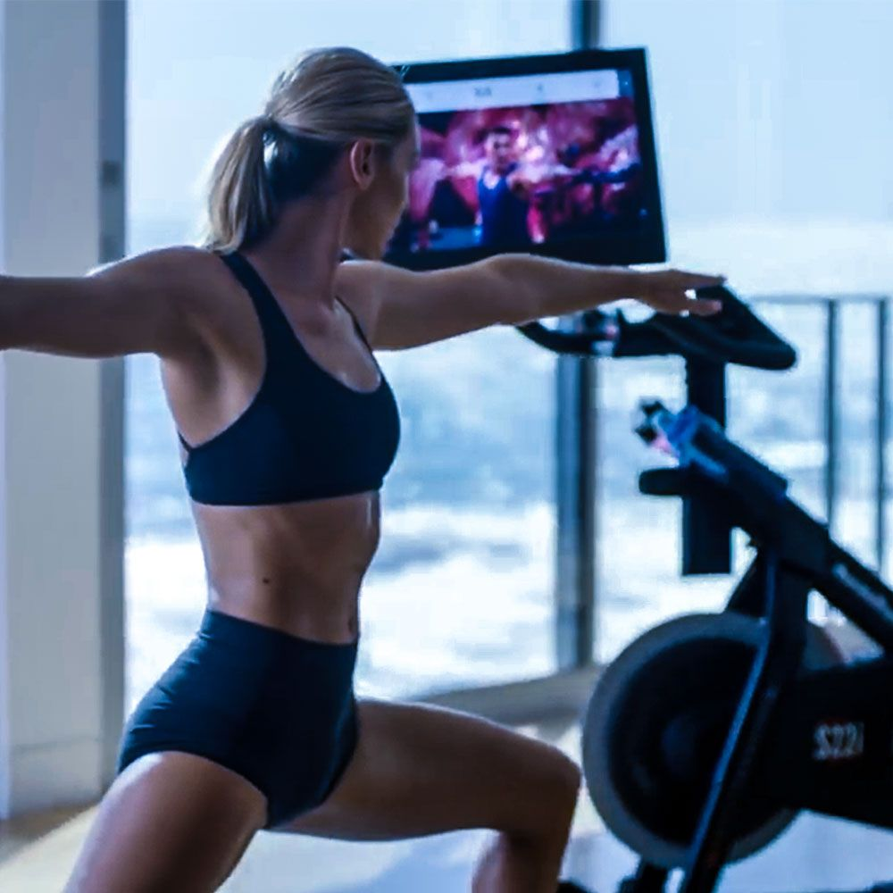 BEYOND THE RIDE - THE TOUCHSCREEN SWIVELS FOR OFF THE BIKE CLASSES