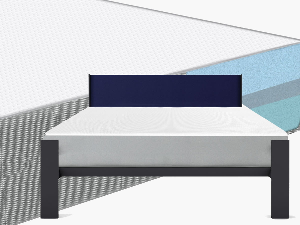 The FIN Mattress  A latex + Gel Memory mattress creates a great sleep, so comfortable - same quality as Casper and Leesa but at a great price. FIN10 - latex+Gel Memory Foam 10 inches tall, comfortable and supportive for a great night's sleep.