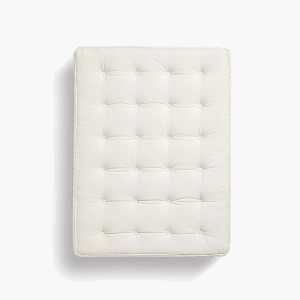 Parachute mattress . Feel the pocketed coil push-back along with the plush comfy feel of the top New Zealand and organic cotton layers.