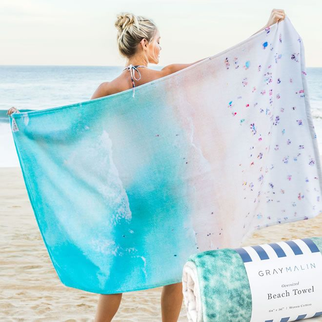 limited edition Beach Towel  by Gray Malin
