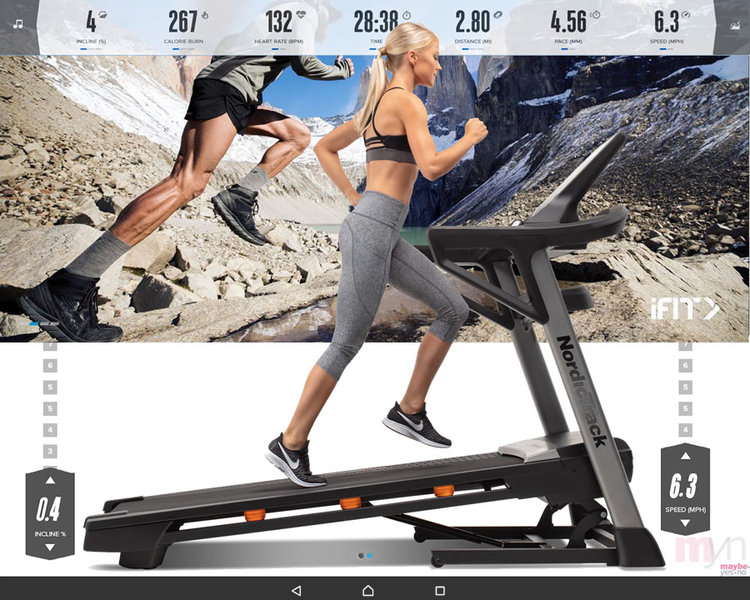 Both the  Commercial 1750  &  T 8.5 S treadmills  have 10 inch touchscreens to follow trainer led iFit classes on. The first year of an  iFit  subscription is included in the price of your exercise equipment