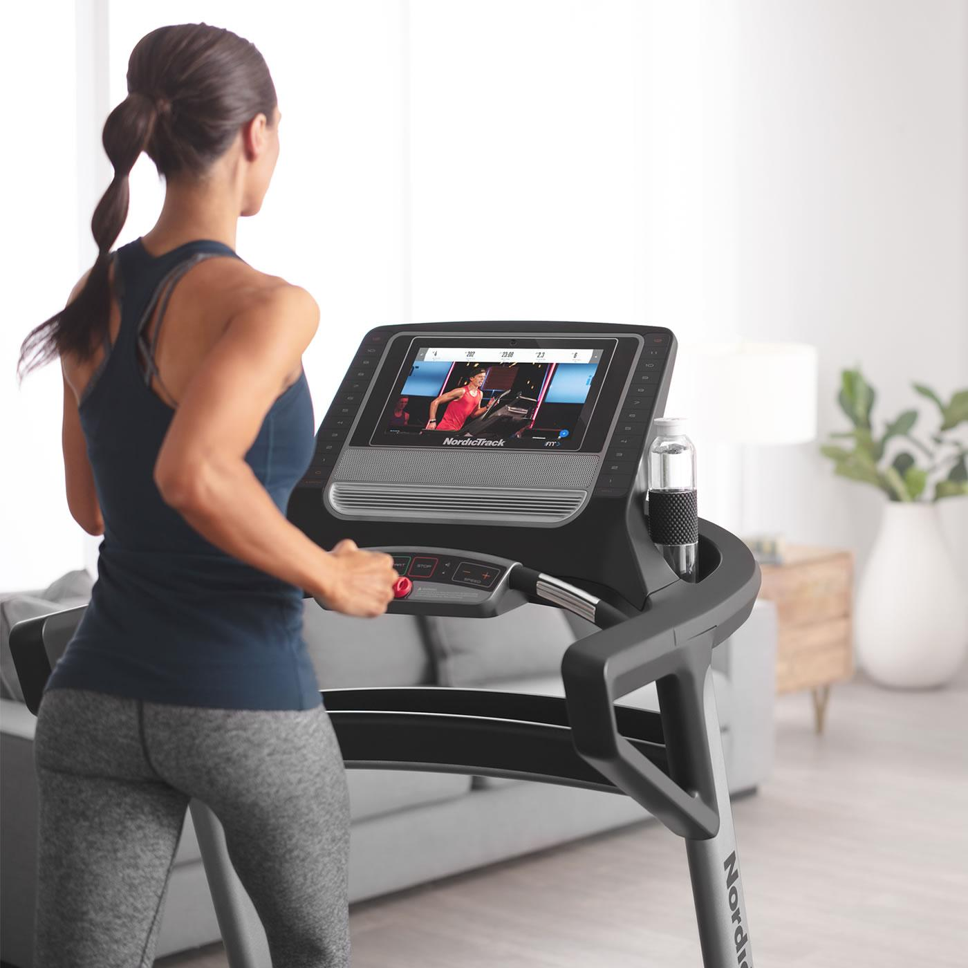 The T 9.5 S Treadmill by Nordictrack  is exactly the same as the T 8.5 model except for the 14 inch touchscreen which is 4 inches wider