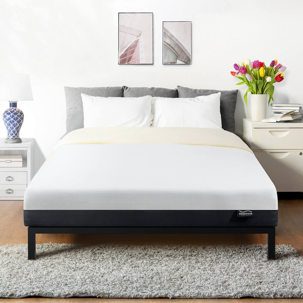 STYLISH FOR ANY BED -