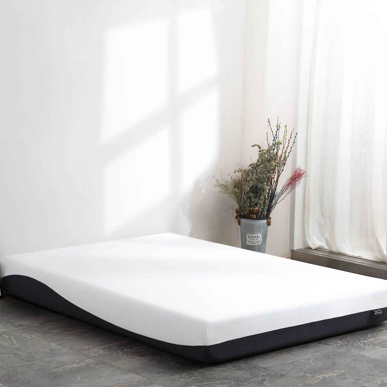 A Nighslee mattress  works on most surfaces including the Floor if you prefer and very easy to unpack