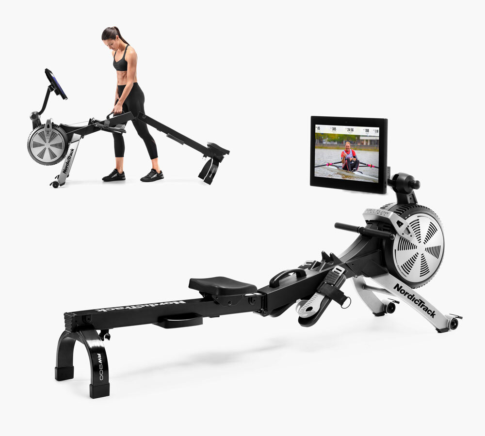 Nordictrack RW900 Rower  is designed to fold-up