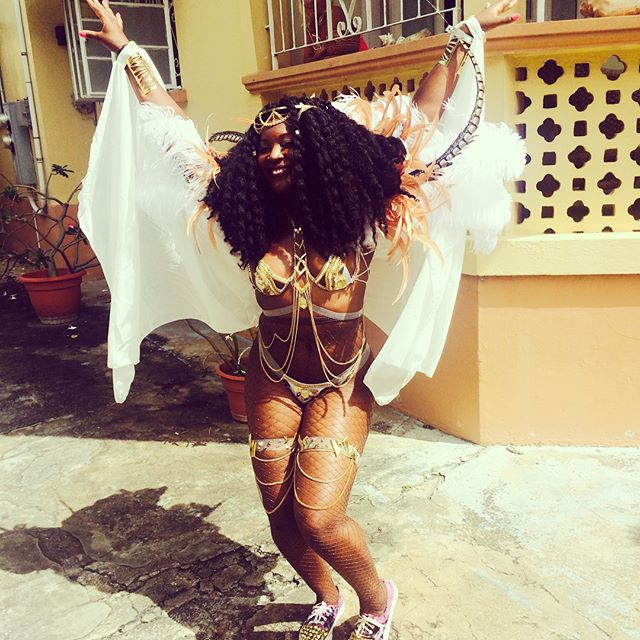 Seeing @badgalriri and @natasha_nicole84 posts from Cropover/Barbados has me feeling nostalgic. It is a must do! Especially with friends like @desiree_manuela and the Governor of 🇧🇧. Goddess of Wisdom from front to back 😏 #Cropover2016 #QuietlyHating #Cropover2018 #Barbados #Soca #NoSleep #AllFun #JumpUp #Fete #TravelNoire