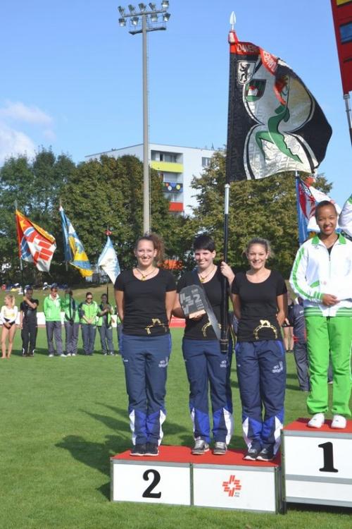 Die Rhönradturnerinnen holen an den Schweizermeisterschaften im Vereinsturnen 2014 den zweiten Rang!