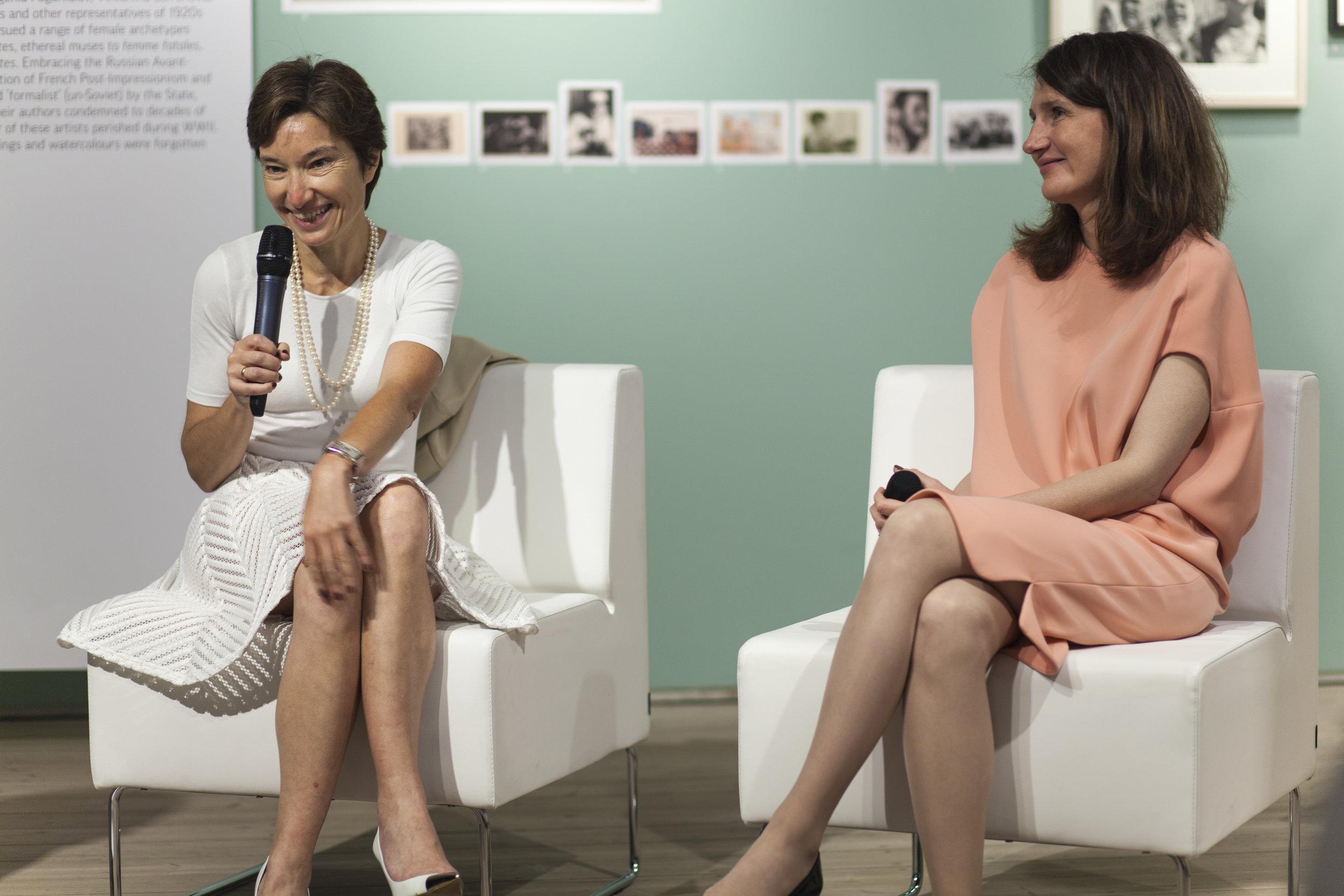 Roundtable Discussion with Masha Gordon and Natasha Tsukanova: Financiers and philanthropists
