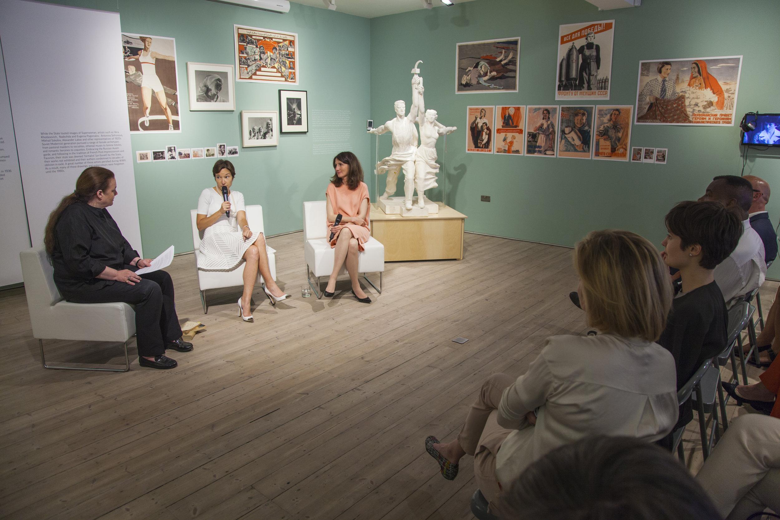 Roundtable Discussion with Masha Gordon and Natasha Tsukanova:Financiers and philanthropists