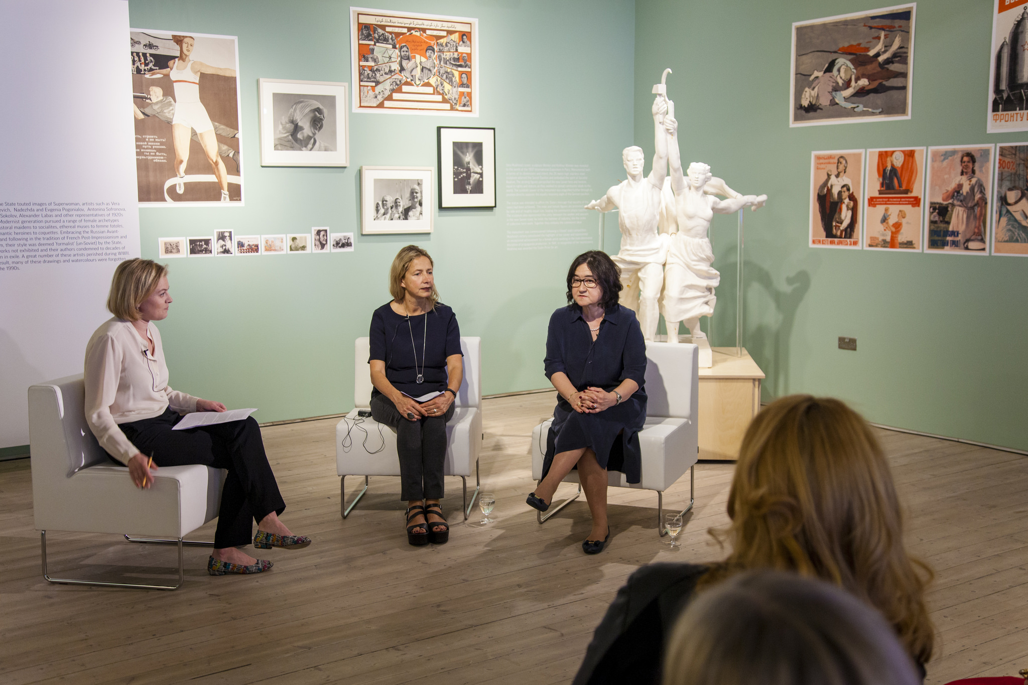 Roundtable Discussion with Iwona Blazwick and Zalfira Trigulova