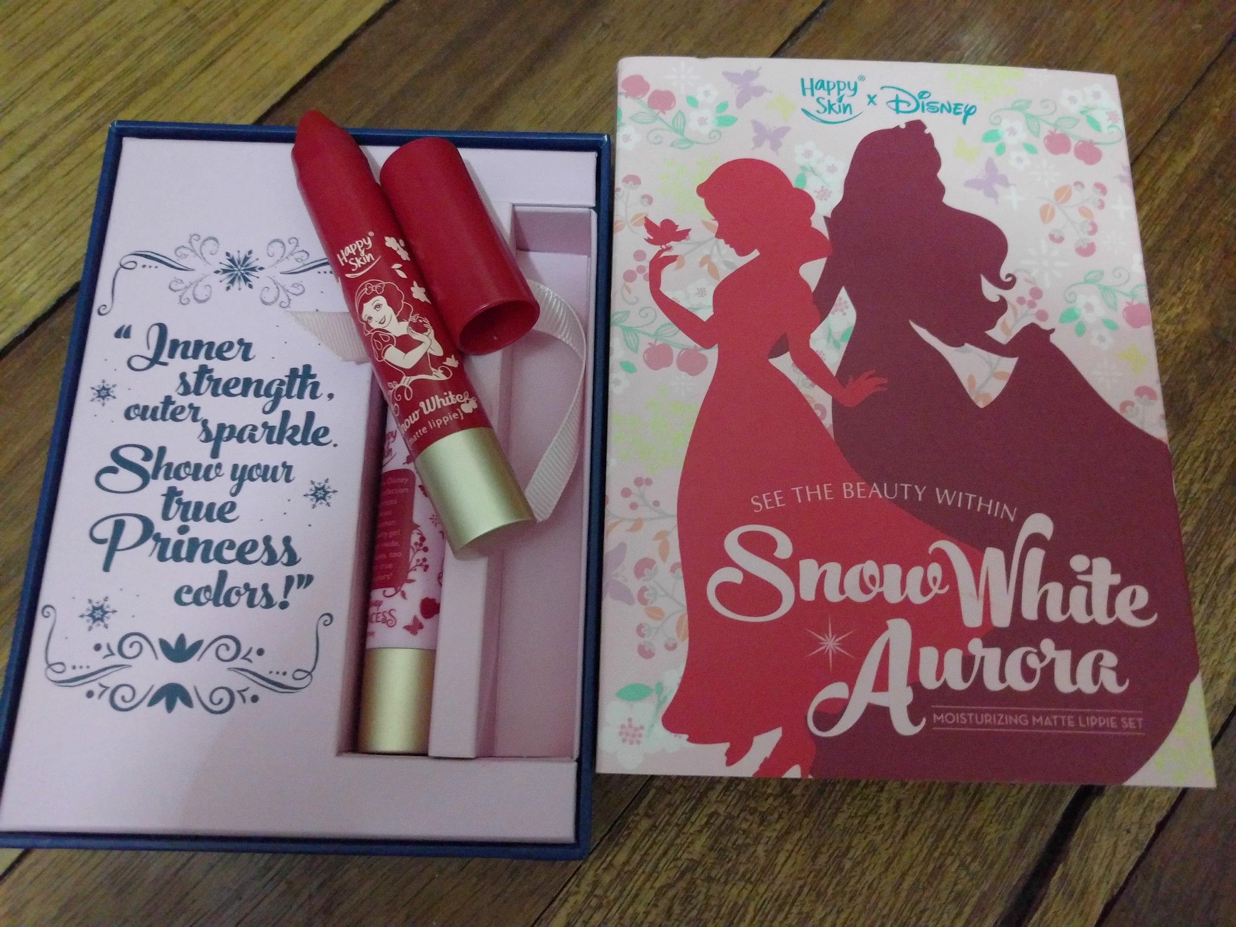 Happy Skin x Disney Collection in Snow White & Aurora