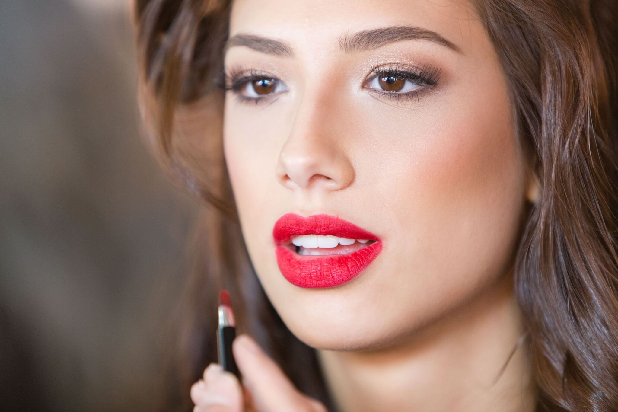MAC Retro Matte Lipstick in Ruby Woo was the most popular red lip among the candidates.