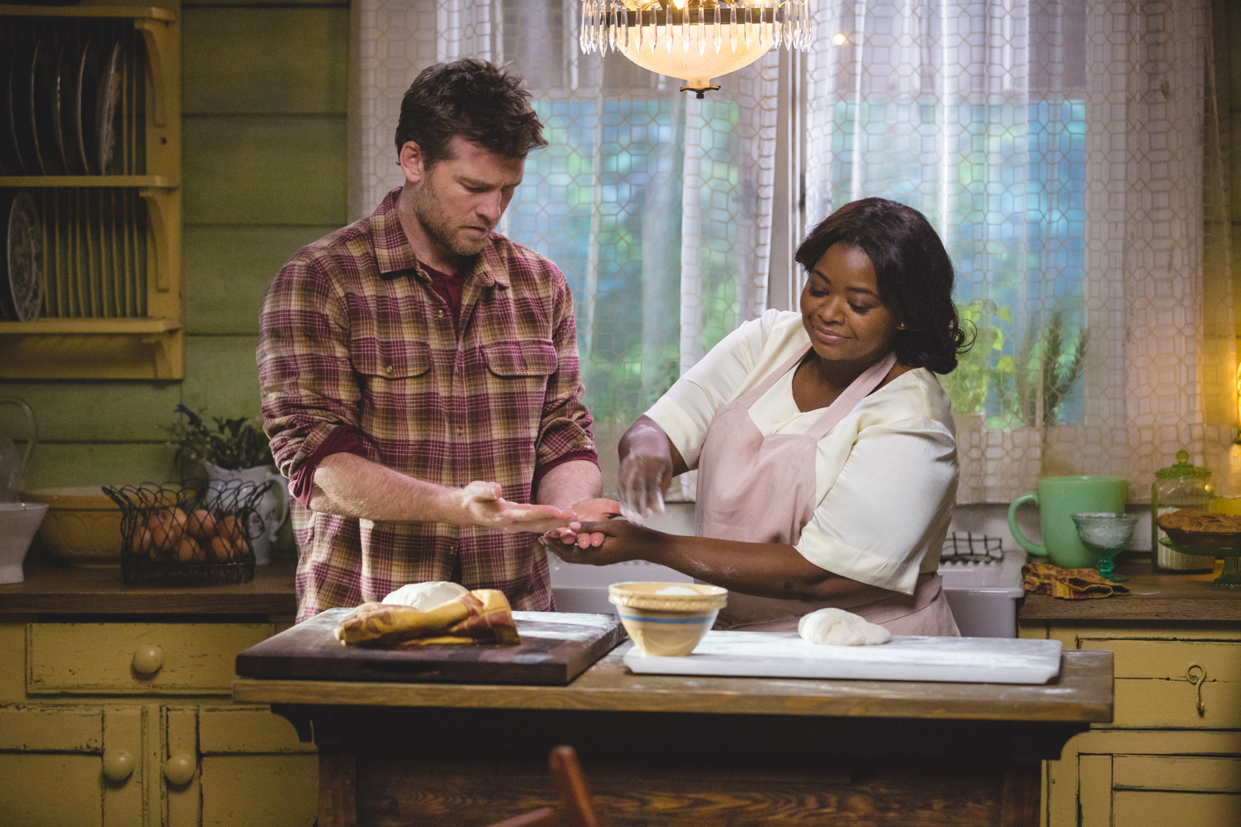 Sam Worthington and Octavia Spencer in The Shack / Pioneer Films