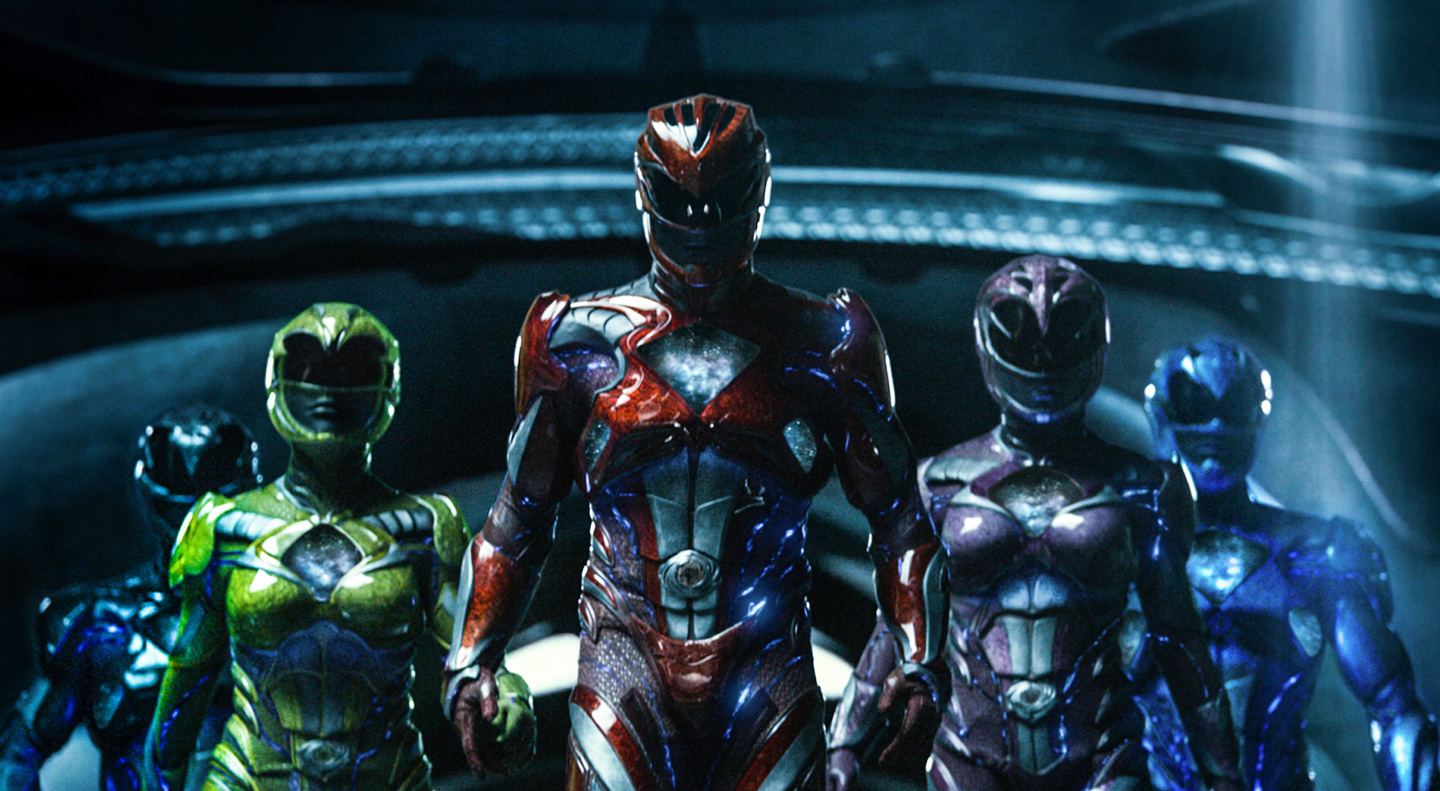The all new Power Rangers back in action