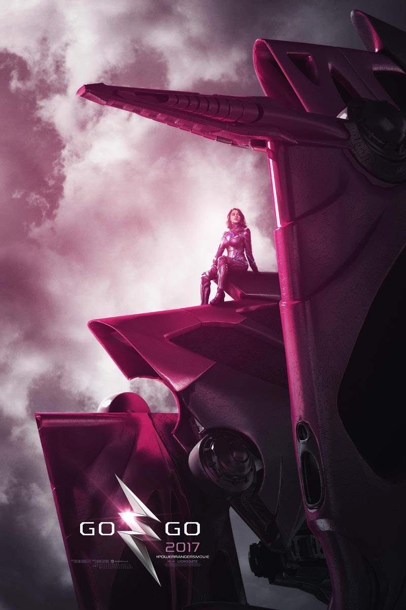 Naomi Scott as Kimberly the Pink Ranger