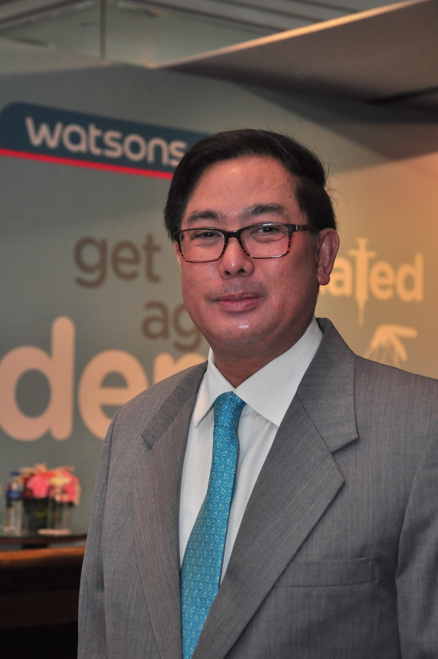 Watsons Trading Health Director Danilo Chong