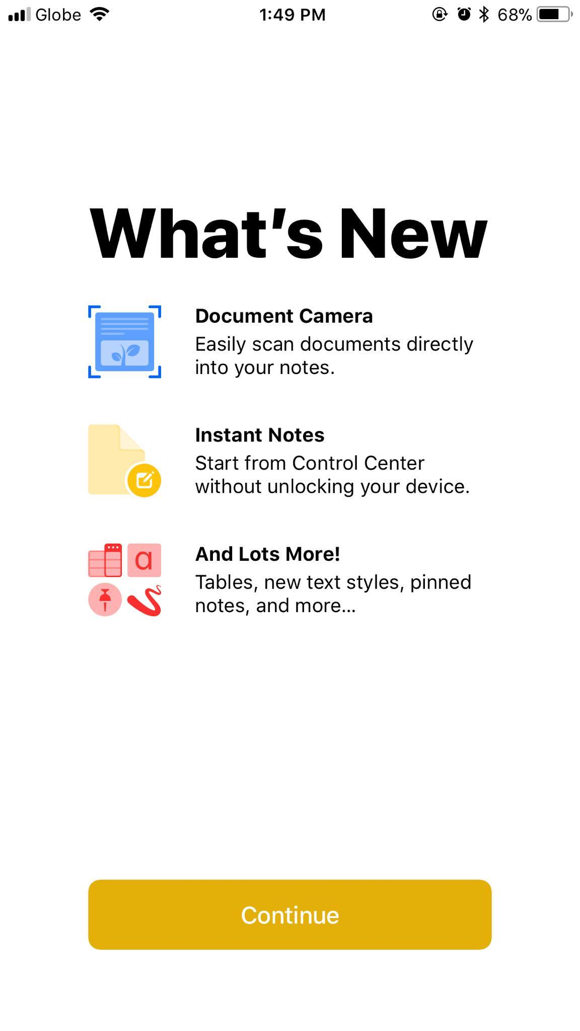 Notes on iOS 11