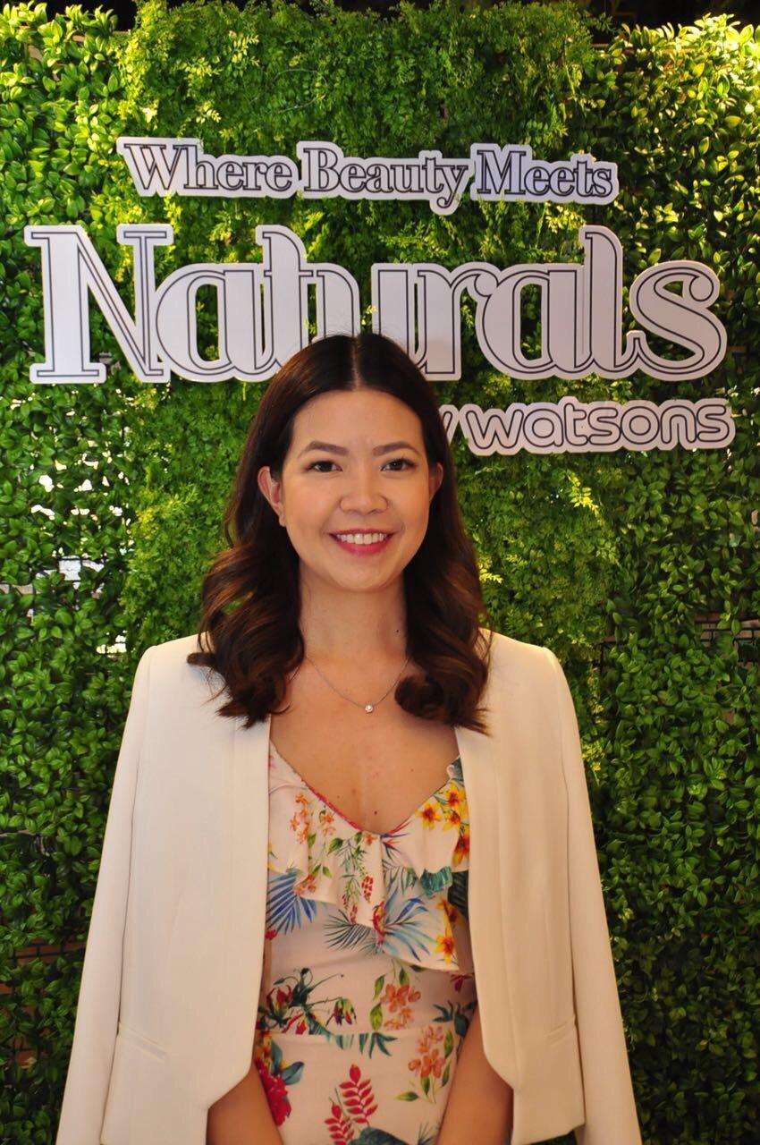 Karen Fabres, Watsons Group Marketing Manager