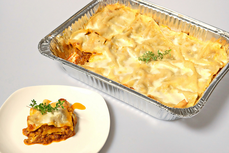 Cibo di Marghis' Classic Baked Lasagna