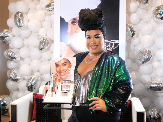 PatrickStarrr at the MAC PatrickStarrr event in Manila