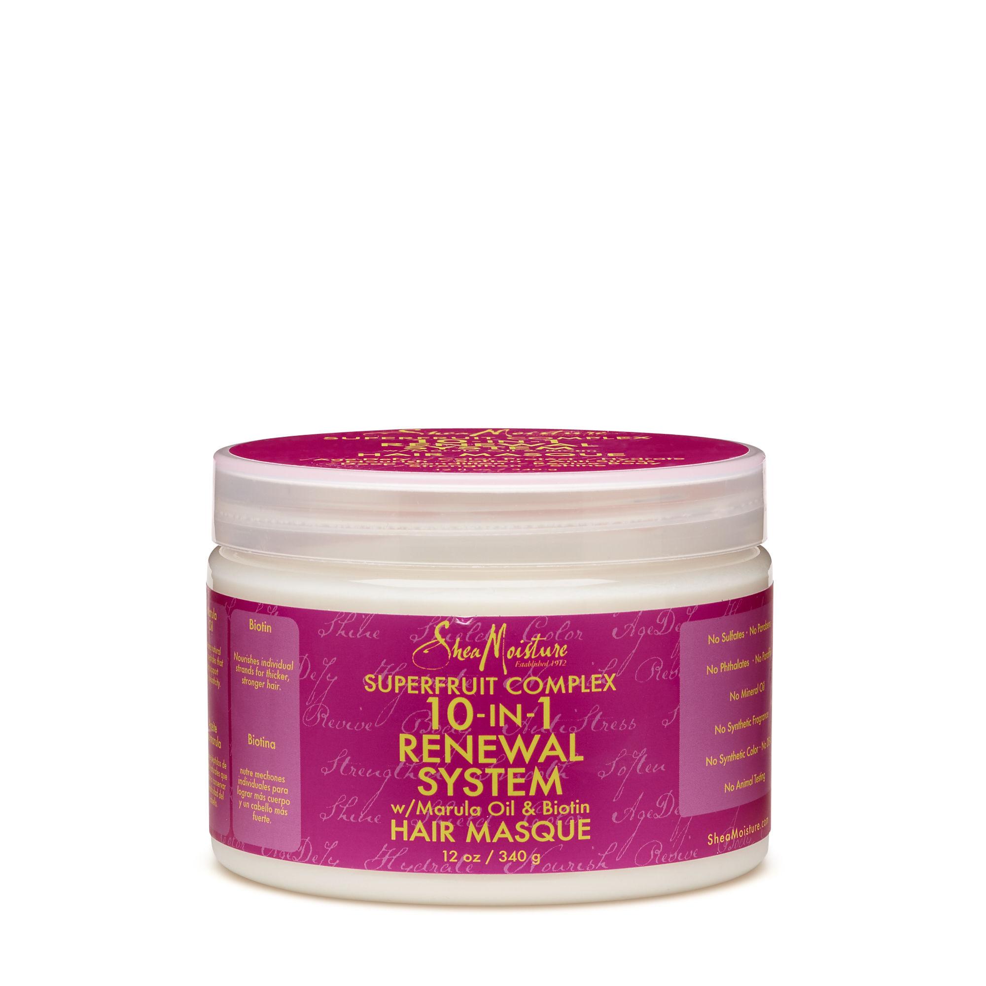 Shea Moisture Sacha Inchi Oil Multi-vitamin Hair Masque