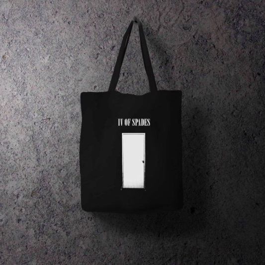 IV of Spades, Door Tote Bag, P285