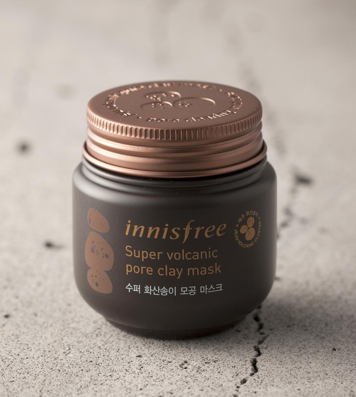 (Innisfree, Super Volcanic Pore Clay Mask 2x, P 804.93)