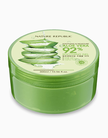 Nature Republic Aloe Vera 92% Soothing Gel 300ml (Php 245.00)