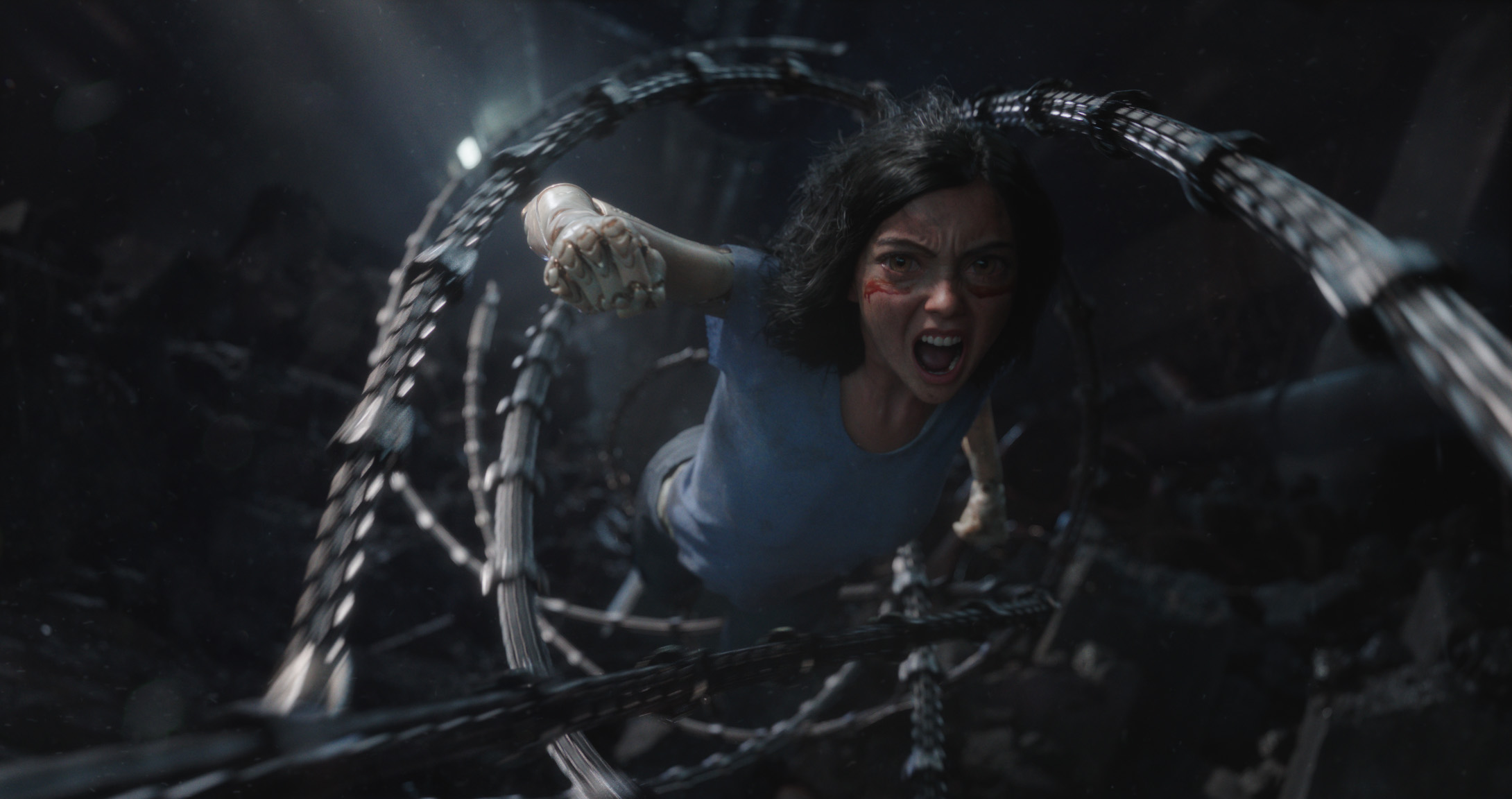 Rosa Salazar as Alita in motion capture - ALITA BATTLE ANGEL.jpg