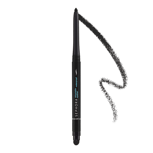 Sephora Collection Retract Waterproof Eyeliner in Matte Black, Php 570.00