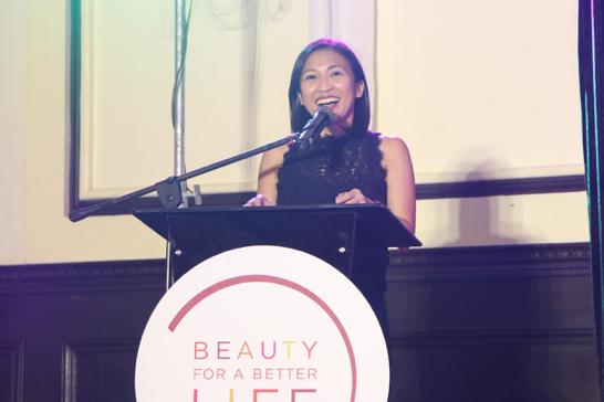 "L'Oréal Philippines Corporate Communications Manager, Carmel Valencia, reflects upon another incredible year of hard work and passion from BFBL's graduates, ""It is so amazing and inspiring to see all of you with such big smiles and a new sense of confidence, dignity, and motivation. I see it in your eyes, your smiles, and I'm sure I will see it again when you walk up here to collect your well-earned certificates."""
