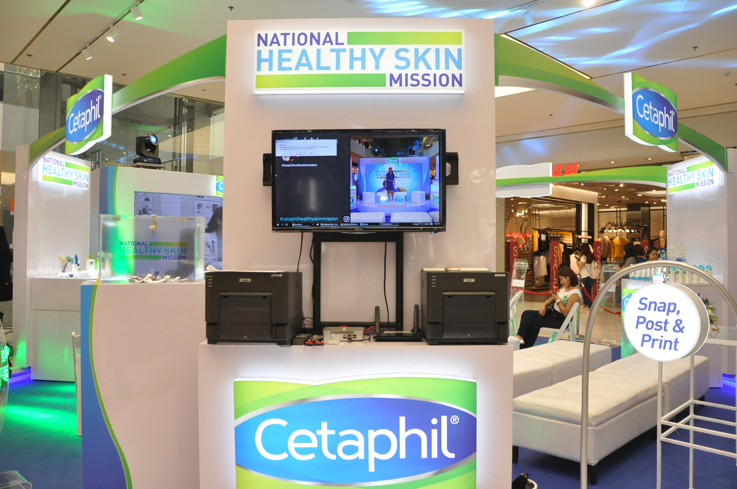 Cetaphil Healthy Skin Mission in SM Makati.JPG