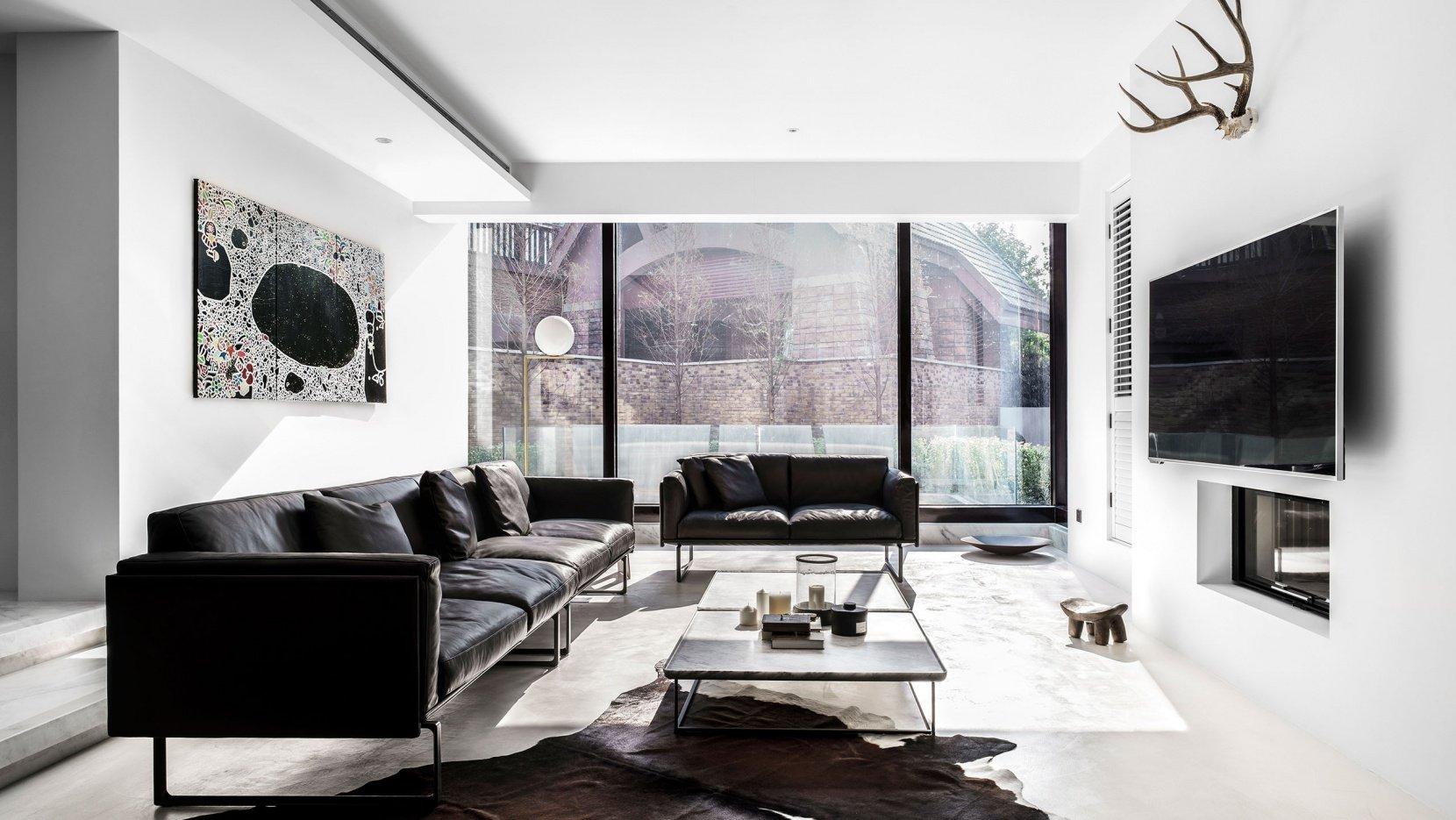 minimalistinis-interjeras-svetainė