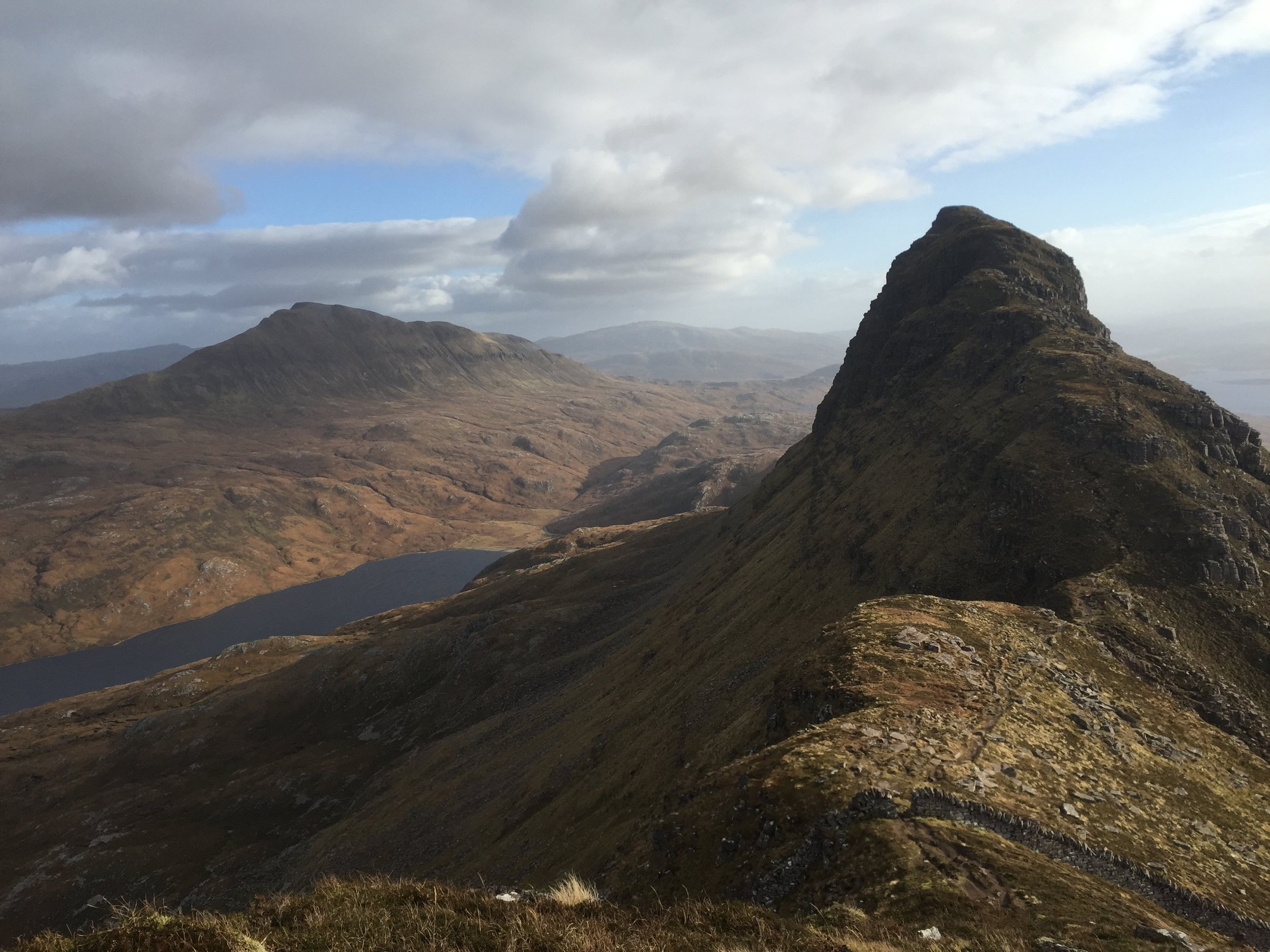 Views from the summit of Suilven