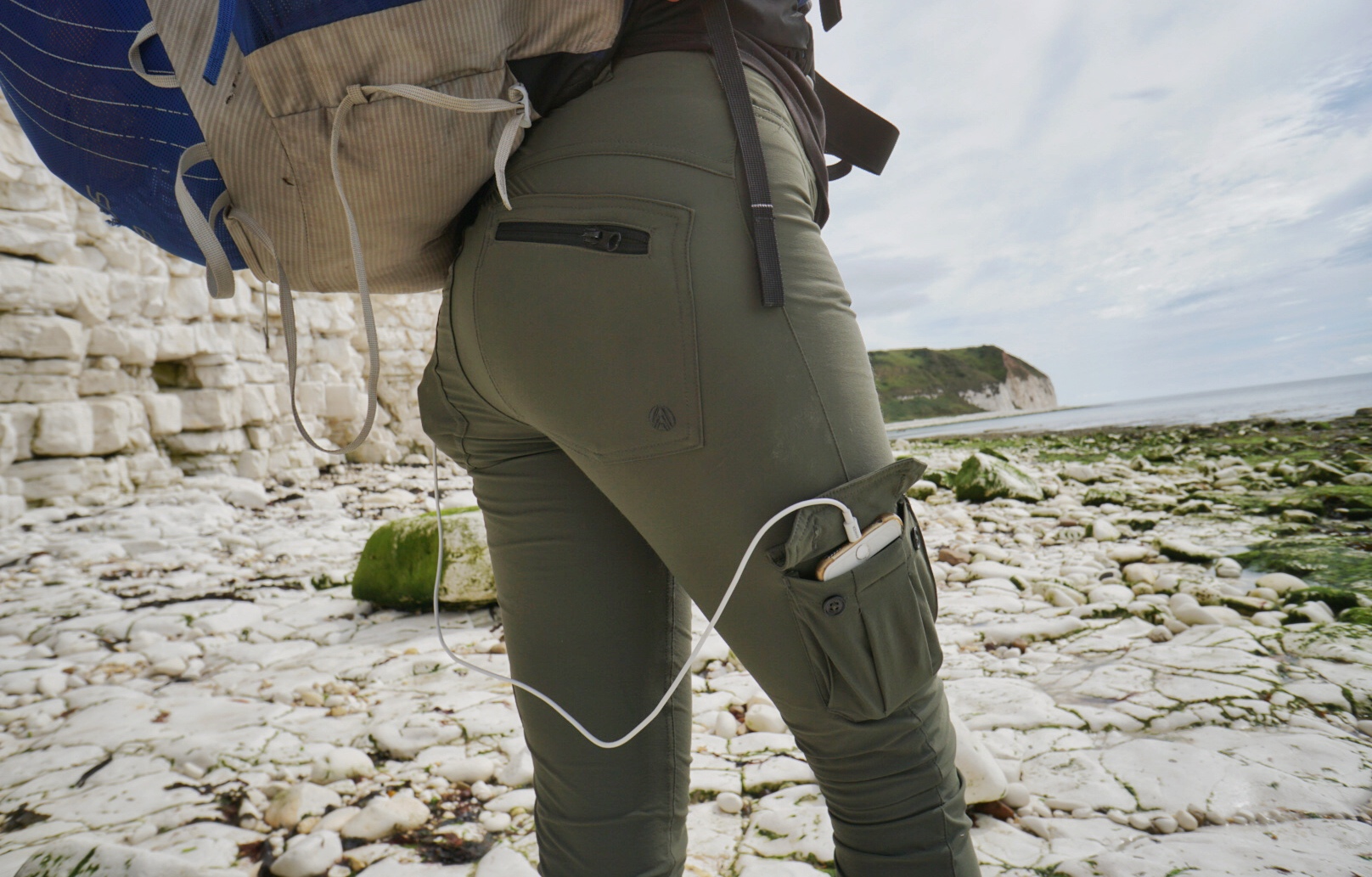 Plenty of pockets on the Cargo Skinny Outdoor Trousers