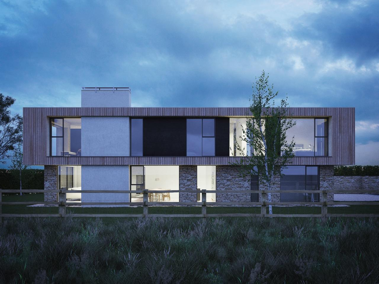 CGI image of proposed house
