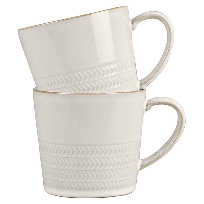 Denby Textured Mugs £28.00 at John Lewis