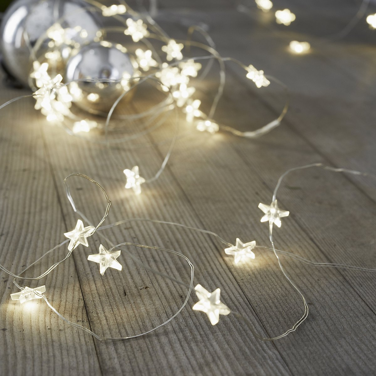 Star Fairy Lights £12.00