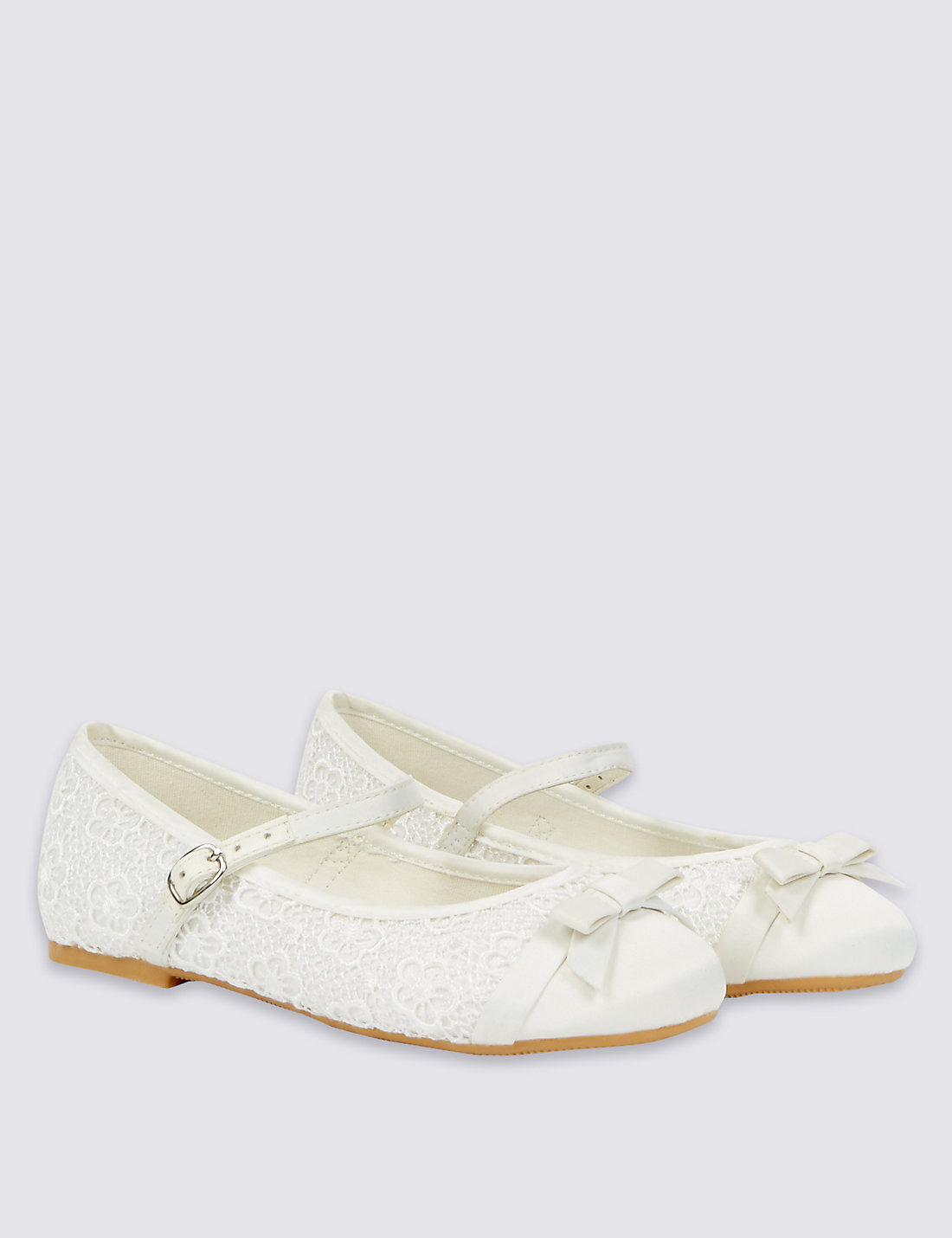 Ballerina Bridesmaid Shoes at M&S