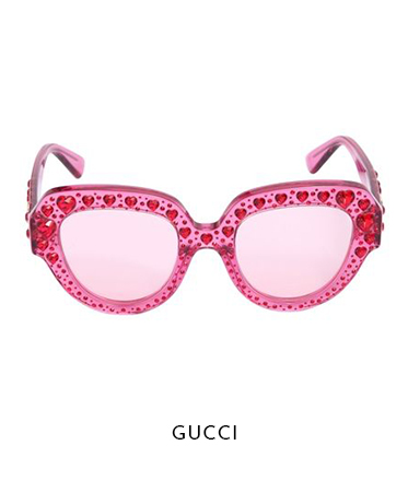 Pink Crystal Gucci Sunglasses