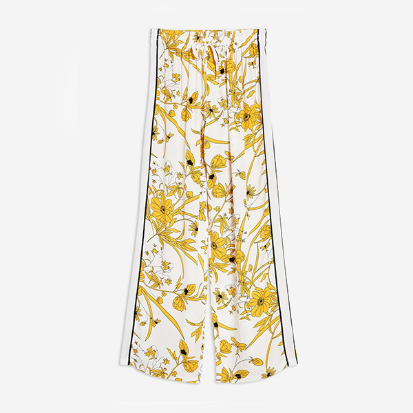 Floral Pyjama Trousers at Topshop